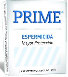 Prime Espermicida Blan X3
