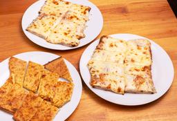 Pizza Muzzarella + Fainá Gratis