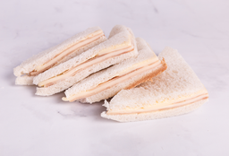 Sándwiches de Jamón y Queso - 4 Unidades