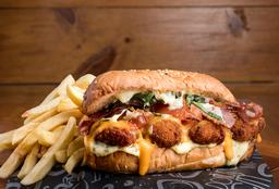 Sándwich Chicken Cheddar
