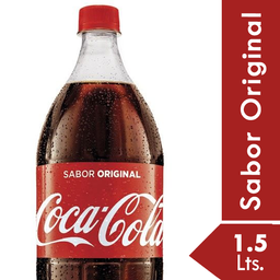 Refresco Coca Cola 1.5 Lt.