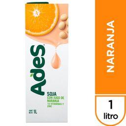 Ades Jugo De Soja Naranja