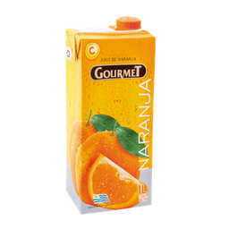 Jugo Gourmet De Naranja 1 Lt.