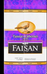 Vino Tannat Cabernet Faisan 1 Lt.