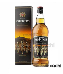 Whisky 100 Pipers Deluxe 1 Lt.