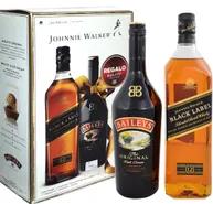 Whisky Johnnie Walker Etiqueta Negra 1 Lt + Baileys