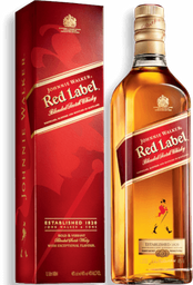 Whisky Johnnie Walker Etiqueta Roja 1 Lt.