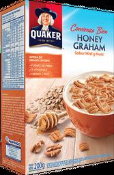 Cereal Quaker Honey Graham 200 Grs.