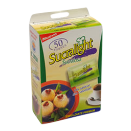 Edulcorante Sucralight Polvo 8 Grs. X 50 Unidades