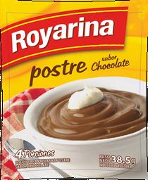Postre De Chocolate Chico Royarina 38.5 Grs.