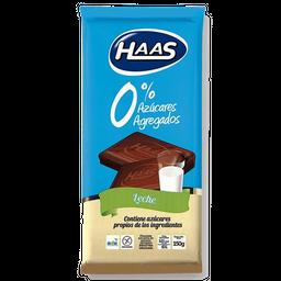 Chocolate Haas Con Leche 0% Azucar Agregada 150 g