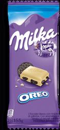Chocolate Blanco Oreo Milka 155 Grs.