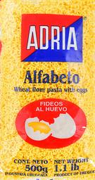 Fideos Adria Alfabeto al Huevo 500 g