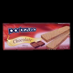 Portezuelo Galletas Oblea De Chocolate