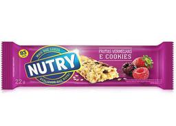 Barrita Nutry Frutos Rojos Con Cookies 25 g