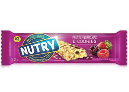 Barrita Nutry Frutos Rojos Con Cookies 25 g