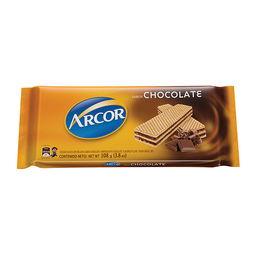 Arcor Galletas Waffle Chocoloate