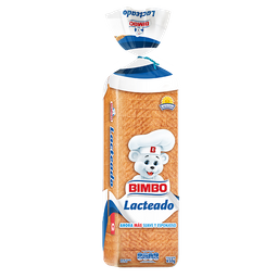 Pan De Molde Bimbo Lacteado 650 Grs.
