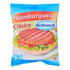 Hamburguesas Schneck X 2 ( 140 Grs. )