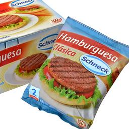 Hamburguesas Schneck X2 167 Grs.