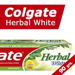 Crema Dental Colgate Herbal Blanqueadora 90 Grs.