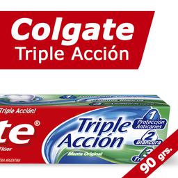 Crema Dental Colgate Triple Accion 90 Grs.