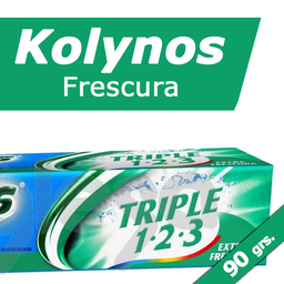 Crema Dental Kolynos Frescura Extra 90 Grs.