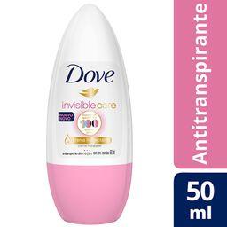 Desodorante Dove Roll-On Femenino Invis. Care 50 Grs.