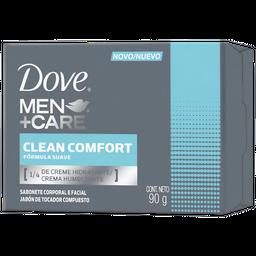 Jabon De Tocador Dove Men Clean Comfort 90 Grs.