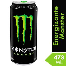 Bebida Energizante Monster Energy 473 Ml.