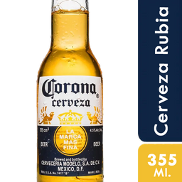 Cerveza Corona 355 Ml.