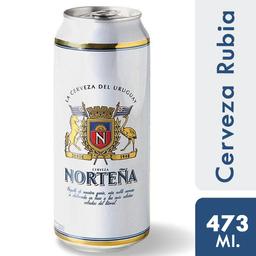 Cerveza Norteña 473 Ml. Lata