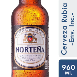 Cerveza Nortena 960 Ml. Retornable