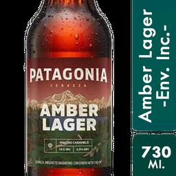 Cerveza Patagonia Amber Lager 730 Ml.