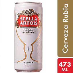 Cerveza Stella Artois 473 Ml. Lata