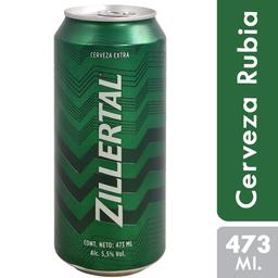 Cerveza Zillertal 473 Ml. Lata