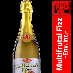 Multifrutal Fizz Cefa 750 Ml.