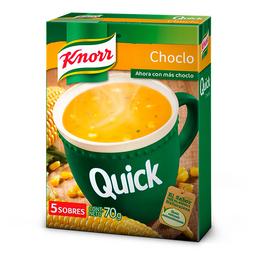 Sopa Knorr Quick De Choclo X 5 Sobres 70 Grs.