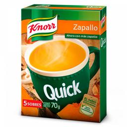 Knorr Sopa Quick De Zapallo X 5 Sobres