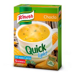 Knorr Sopa Light Quick De Choclo X 5 Sobres