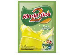 Jugo en Polvo Rinde 2 Sabor Limon