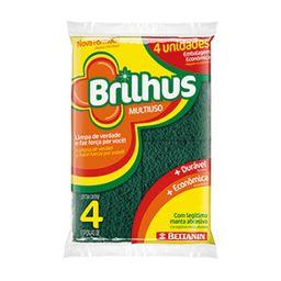 Esponja Esfrebom Brilhus Multiuso X 3