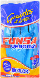 Guantes Bicolor Funsa N°8 1/2