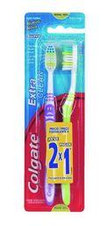 Cepillo Dental Colgate Extra Clean 2 X 1