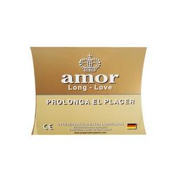Amor Preservativo Dorado X3