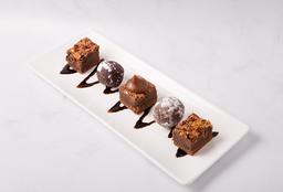 Tabla Degustación de Mini Brownies