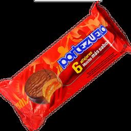 Alfajor De Chocolate Portezuelo X 6 228 Grs.