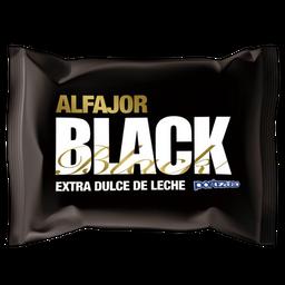 Alfajor Portezuelo Black Extra Dulce de Leche 60 g
