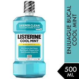 Enjuague Bucal Listerine Cool Mint 500 Ml.