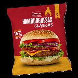 Hamburguesas Conaprole Clasica X 2 167 Grs.